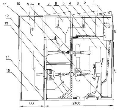 按钮开关结构示意图; jyn1-35(f)交流金属封闭型移开式开关柜-3; 高压